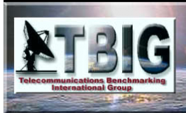 Telecommunications Benchmarking International Group logo